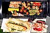 Садовой гриль, барбекю, гриль с коптильной Garden Carbon Grill, фото 9