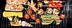 Садовой гриль, барбекю, гриль с коптильной Garden Carbon Grill, фото 10