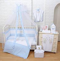 """Детский постельный комплект Veres """"Fairy Tale"""" 7единиц Голубой, фото 1"""