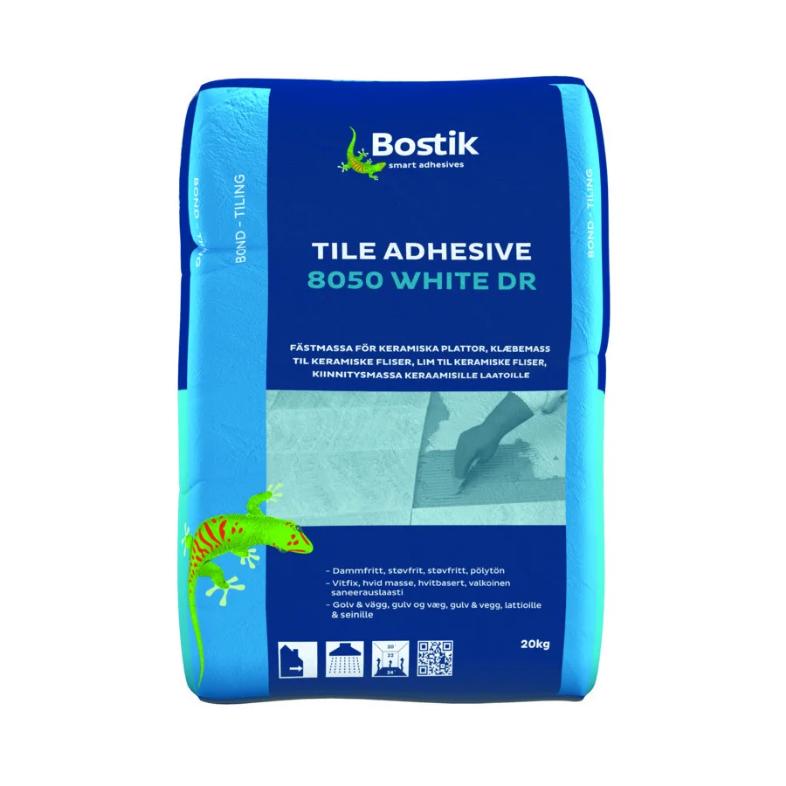 Клей для теплых полов Bostik 8050 White DR, 20 кг