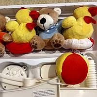 Мобиль мобайл на кроватку, Карусель на кроватку музыкальная Baby Mix  Мишки и уточки