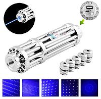 Фонар -лазер синий YX-B017