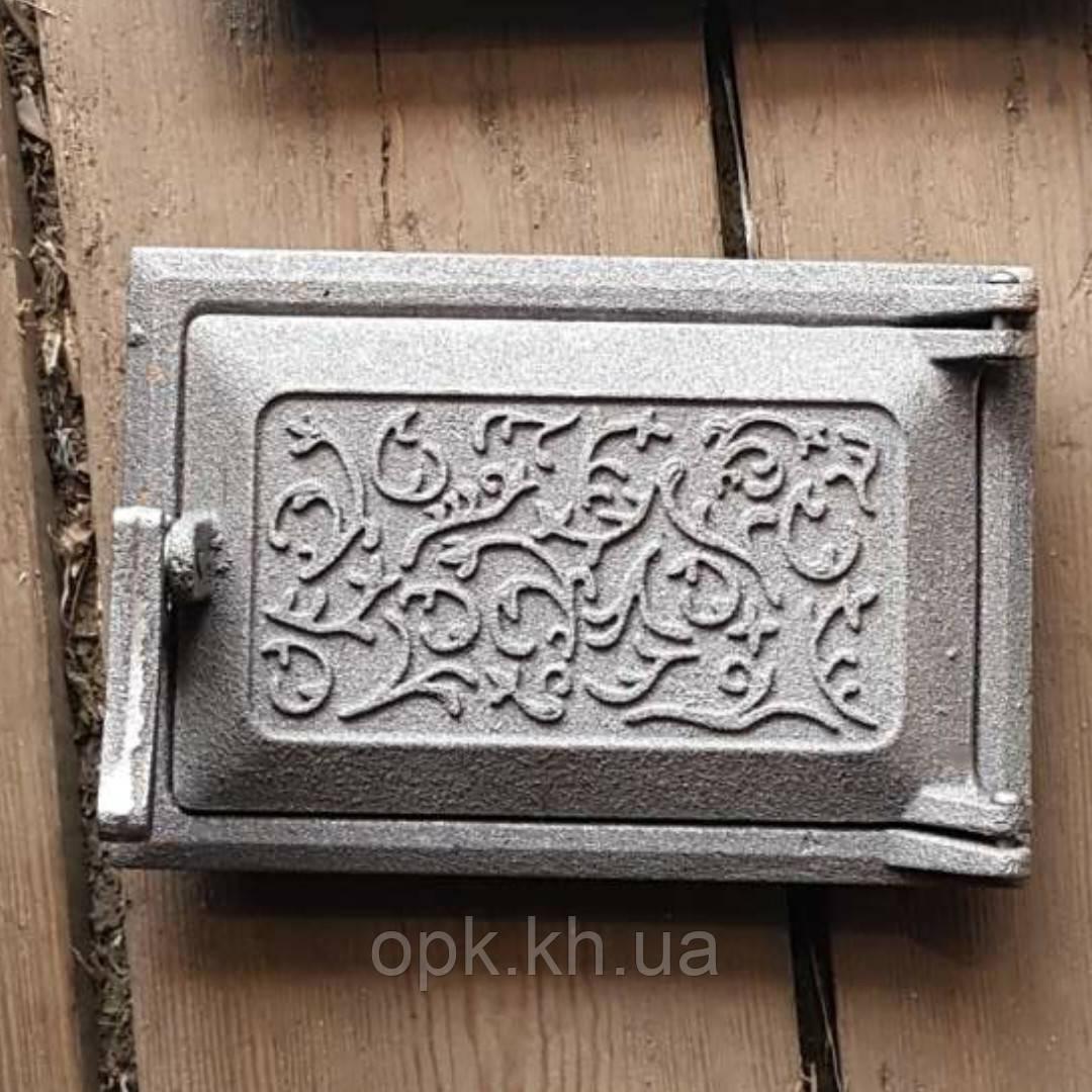 "Дверка поддувальная чугунная ""Т"" 165*245 мм  (вес - 5 кг )"