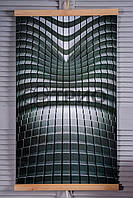 Настенный обогреватель картина Абстракция (Hi-Tech). Размер 100х57 см., Мощность 400 Вт., макс. темп. 75 С