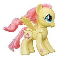Флаттершай c подвижными крыльями 15 см - Fluttershy, Action Friend, My Little Pony, Hasbro - 143426 (SKU777)
