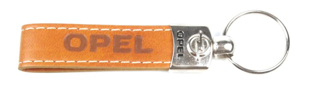 Брелок для ключей Opel (кожаный/коричневый) AUTOTECHTEILE