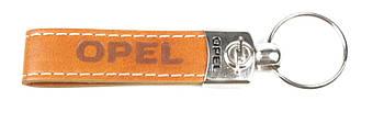 Брелок для ключів Opel (шкіряний/коричневий) AUTOTECHTEILE