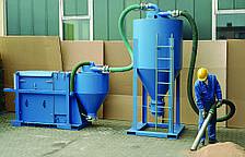 Модель VER 1500 Предварительный сепаратор для промышленного пылесоса
