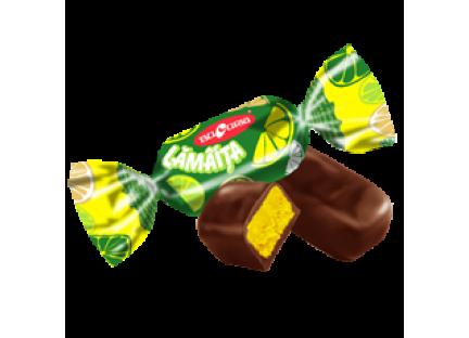 """Молдавские шоколадные конфеты """"Лимон"""" Букурия"""