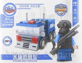 Конструктор Полицейская техника KY98504