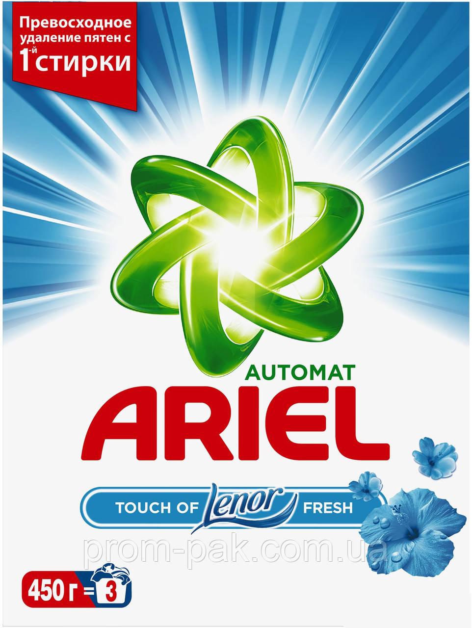 ARIEL Автомат порошок ,Touch of Lenor Fresh 450г