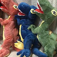 Плед игрушка подушка детская плюшевая Динозавры, совы