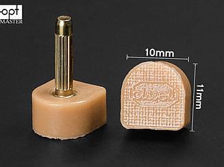 BISSELL шт. 2.2 мм,  р 10*11 мм, цв. бежевый набойки полиуретановые