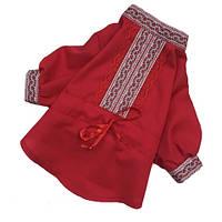 Рубашка-вышиванка RUB-2 для собак DogsBomba (модель унисекс)