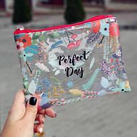Косметичка пластиковая прозрачная Perfect day (KPR_19A025_KR)