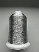 Нитки для машинной вышивки   Madeira Metallic  №35.  цвет 3511 ( СЕРЕБРО).  5000 м