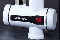 Мгновенный проточный водонагреватель кран смеситель c led экраном+душ   (мини-бойлер)