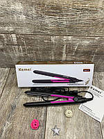 Утюжок ГОФРЕ для прикорневого объема волос Kemei KM - 2131 с Турмалиновым Покрытием