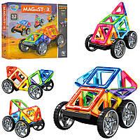 Конструктор Магнитный 32 детали MagniStar Limo Toy Лимо Той, 32 дет., LT3001, 007069, фото 1