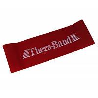 Стрічка еспандер замкнута 20 см Thera-Band червоний T 22