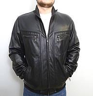 Кожаная мужская куртка FORSAGEtr размер XL+