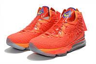 Мужские баскетбольные кроссовки  Nike LeBron 17(Orange), фото 1