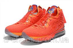 Мужские баскетбольные кроссовки  Nike LeBron 17(Orange)