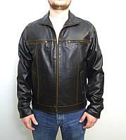 Мужская куртка Eleganza из натуральной кожи модель JEANS размер XL