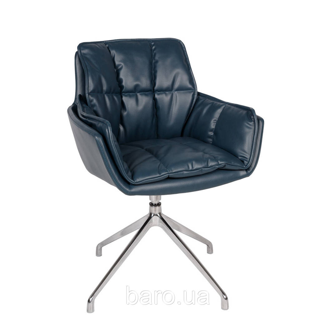Кресло поворотное PALMA (61*56*86) синий, Nicolas