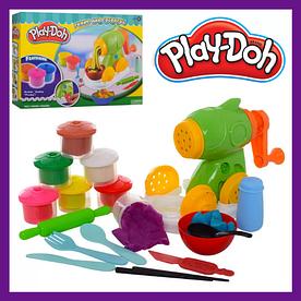 """Набор для лепки пластилин Play-Doh """"Макаронная фабрика"""""""
