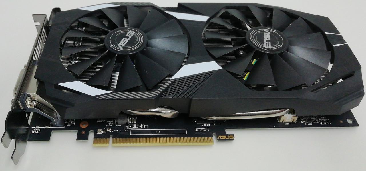 Видеокарта ASUS MINING Radeon RX 580 8gb DVI + HDMI