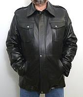 Мужская куртка Eleganza из натуральной кожи модель  BOND размер XXL