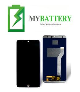 Дисплей (LCD) Meizu 15 Lite (M15) с сенсором черный