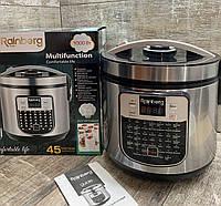 Мультиварка пароварка рисоварка йогуртница Rainberg RB-6209  45 программ