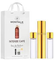Женский мини парфюм Montale Intense Cafe, 3*15 мл