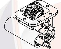 Коробка отбора мощности Hiposan IVECO 2840.6 механическая