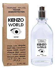 Тестер женский Kenzo World, 67 мл.