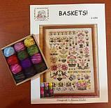 Схема для вышивки Rosewood Manor Baskets!, фото 2