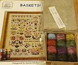 Схема для вышивки Rosewood Manor Baskets!, фото 3