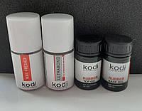 Rubber Base Kodi 14 ml + Rubber Top Kodi 14 ml + Ultrabond Kodi 15 ml + Nailfresher 15 ml