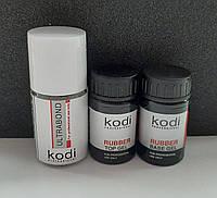 Rubber Base Kodi 14 ml + Rubber Top Kodi 14 ml + Ultrabond Kodi 15 ml