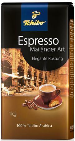 Кофе TCHIBO Espresso Mailander Art в зернах 1000 г