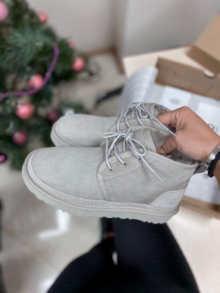 Женские ботинки-угги UGG Neumel Grey