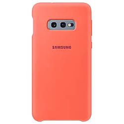 Чехол-накладка Samsung Silicone Cover Galaxy S10e Pink Sand