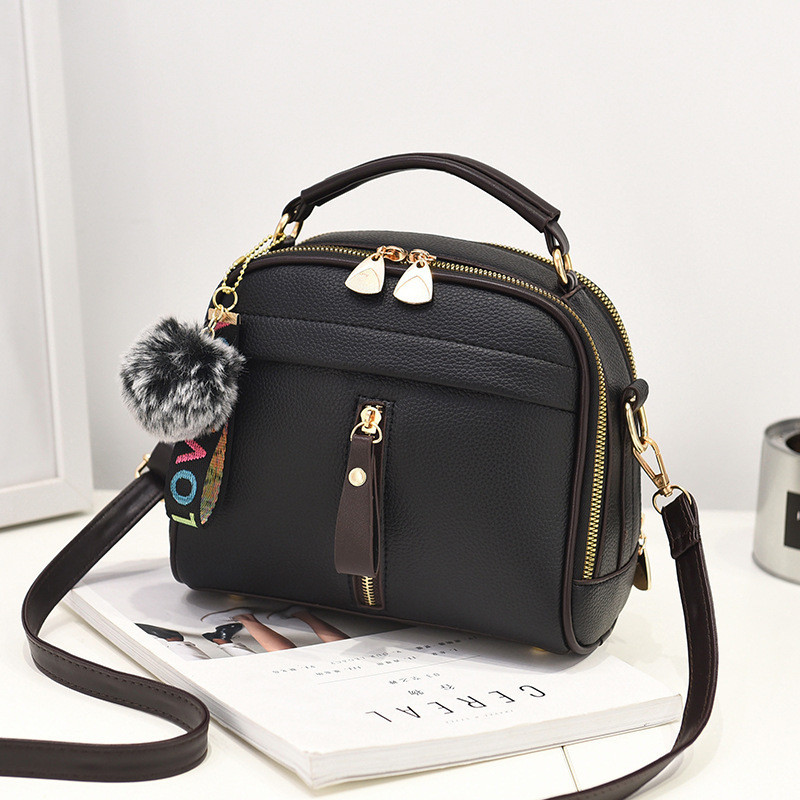 Заказ от 1000 грн, женская черная сумочка оптом FS-4554-10