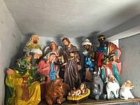 Різдвяний Вертеп великий (висота 150 см)