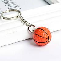 """Необычный брелок для ключей или на рюкзак """"Баскетбольный мяч""""!"""