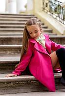 Детское кашемировое пальто, МАЛИНА (мм.629) р. 122-140 МД-0006