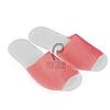Одноразовые тапочки для отелей, салонов красоты, саун (25 пар, р. 36-40, красные)