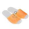 Одноразовые тапочки для отелей, салонов красоты, саун (25 пар, р. 36-40, оранжевые)